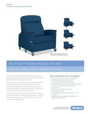 Art of Care Powered Bariatric Recliner