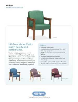 Art of Care Visitor Chair
