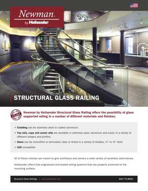 Newman Structural Glass Railing