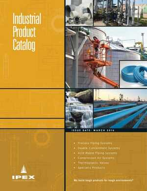 Product Catalog - IPEX US Industrial