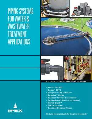 Application Brochure - Water and Wastewater Systems