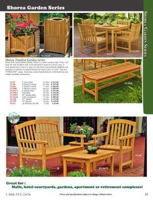 <!-- 052 -->Garden Furniture
