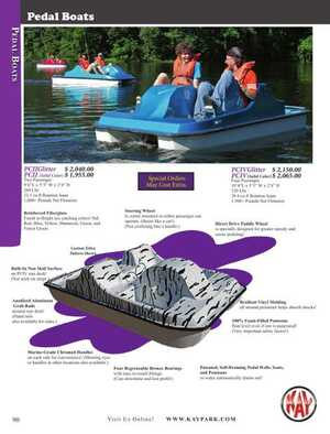 <!-- 056 -->Pedal Boats