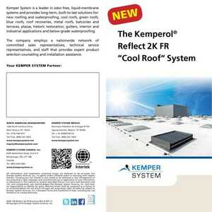 <!-- 026 -->The Kemperol® Reflect 2K FR Cool Roof System