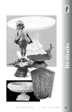 <!-- 028 -->Birdbaths Catalog