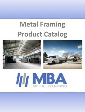 <!-- 010 -->Metal Framing Product Catalog