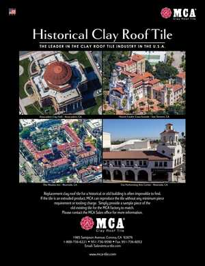 Historical Clay Roof Tile