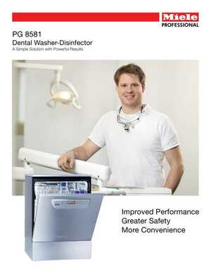 Dental Washer Disinfector