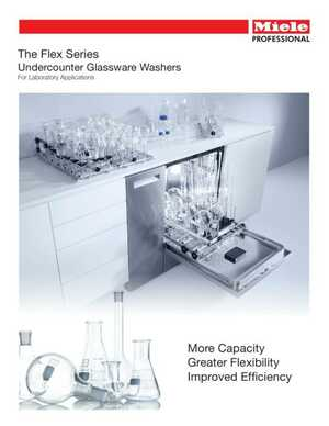 Flex Series Undercounter Glassware Washers