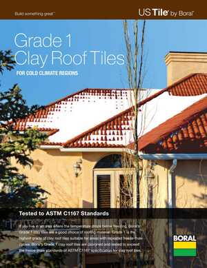 Clay - Grade 1 Tile for Cold Climate - Brochure