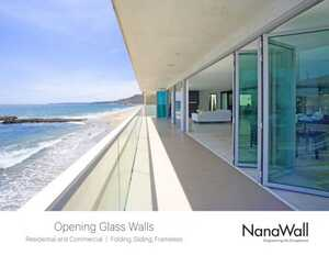 <!-- 010 -->Opening Glass Walls