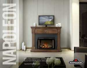 Electric Mantels / Entertainment Units - Built-in Fireplaces and Log Sets