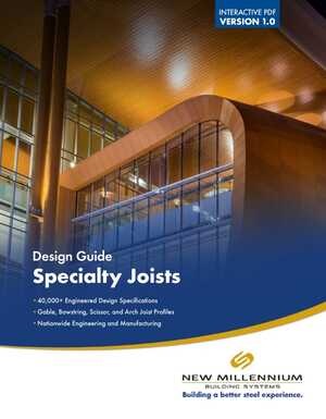 Design Guide Specialty Joists 2019