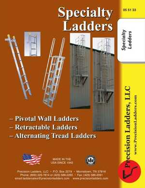 <!-- 022 -->Specialty Ladders