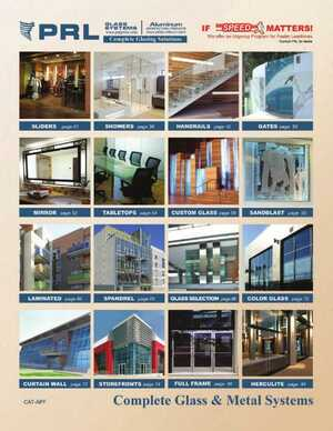 <!-- 022 -->2015 Architectural Glass and Metal Systems Catalog