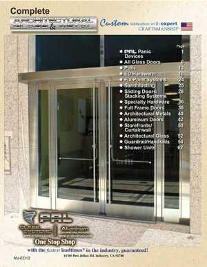 <!-- 010 -->2011 Architectural Glass and Metal Catalog