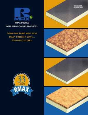 <!-- 018 -->RMAX POLYISO INSULATED ROOFING PRODUCTS