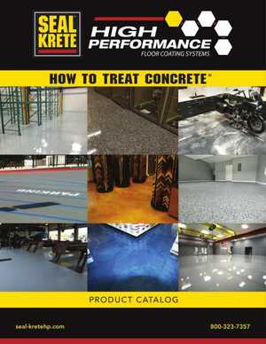 SealKrete - How to Treat Concrete