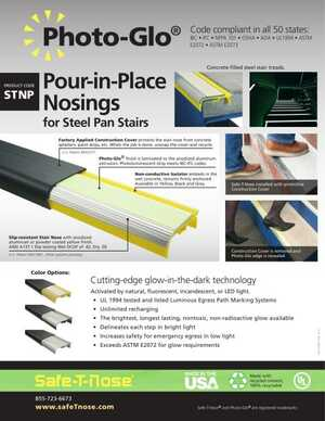 Photo-Glo Pour-in-Place Nosings