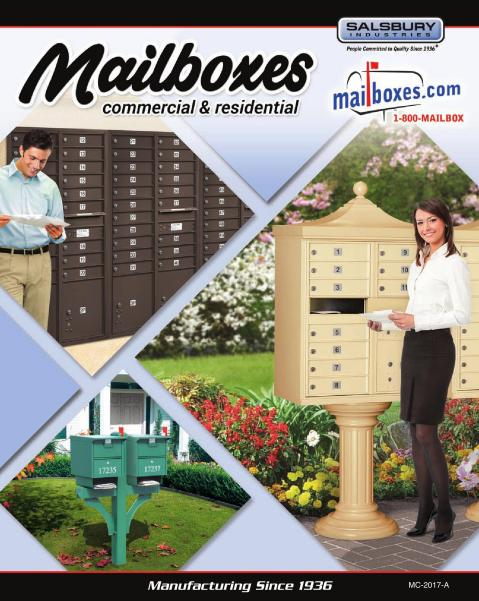 Salsbury Industries 3394 Pedestal Mounting Kit for Bolt Mounted Mailbox Posts and Pedestals