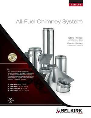 All-Fuel Chimney System