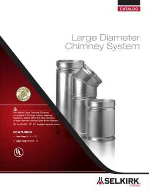 Large Diameter Chimney System