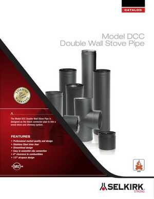 Model DCC Double Wall Stove Pipe