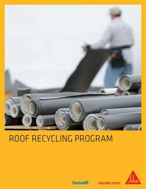 Roof Recycling Program