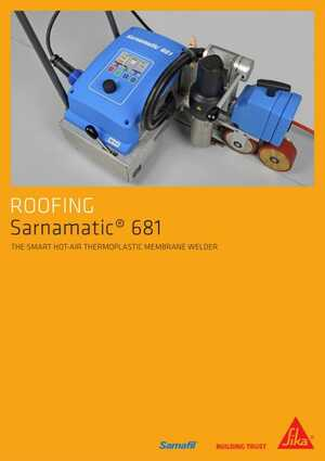 Sarnamatic 681 Hot-Air Welder