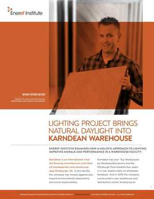 <!-- 034 -->Eneref Institute Lighting Project