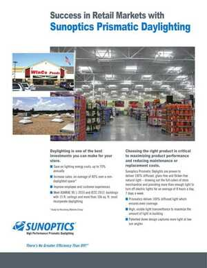 <!-- 016 -->Sunoptics for Food & Retail Markets
