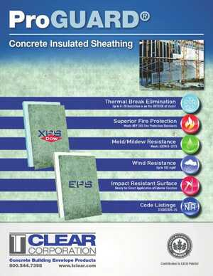 ProGUARD Concrete Insulated Sheathing