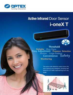 <!-- 042 -->i-oneX T Active Infrared Door Sensor