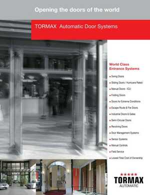 -3C!-- 010 --%3EAutomatic Door Systems%7C084229 08460 new2017-tx9200tx9300slide Automatic Slide Door Systems Series TX9200 Outside Slide and TX9300 Inside Slide%7C