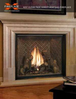 <!-- 012 -->4237 Clean Face Direct Vent Gas Fireplace
