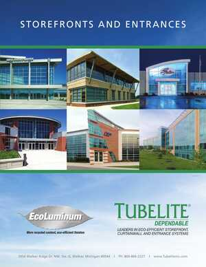 Aluminum Entrances and Storefronts e-Catalog