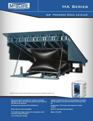 <!-- 022 -->MA Series- Air Powered Dock Leveler