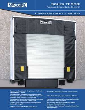 <!-- 042 -->TC300 Series Dock Shelter