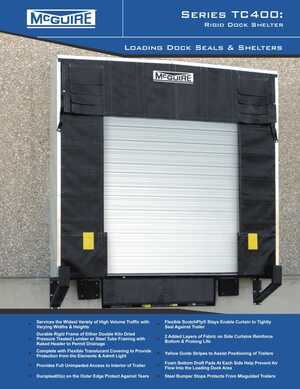 <!-- 046 -->TC400 Series Dock Shelter