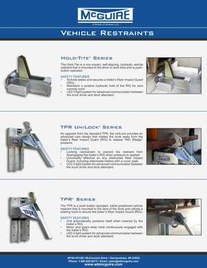 <!-- 012 -->McGuire Restraints Overview