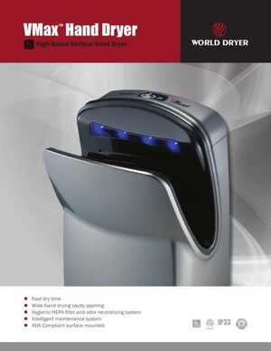 <!-- 014 -->VMax Hand Dryer Brochure