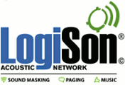 LogiSon Acoustic Network Networked Sound Masking, Paging and Music System