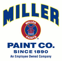 interior and exterior paints by Miller Paint Co.