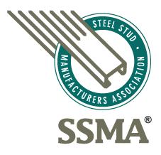 Steel Stud Manufacturers Association (SSMA) Metal Support Assemblies