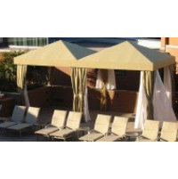 Academy Awning, Inc. / Cabanas by Academy image | Outdoor Cabana Designs - Poolside, Custom, Commercial