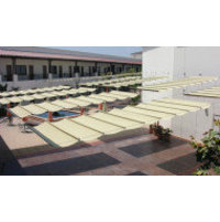 Academy Awning, Inc. / Cabanas by Academy image | Commercial Shade Structures, Industrial Patio Awnings and Shade Structures