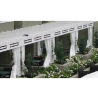 Academy Awning, Inc. / Cabanas by Academy image | Commercial Window Coverings - Industrial Curtains
