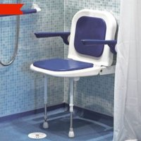 Shower seat with back image