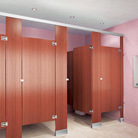 Plastic Laminate Toilet Partitions image