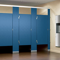 Solid Plastic (HDPE) Toilet Partitions image
